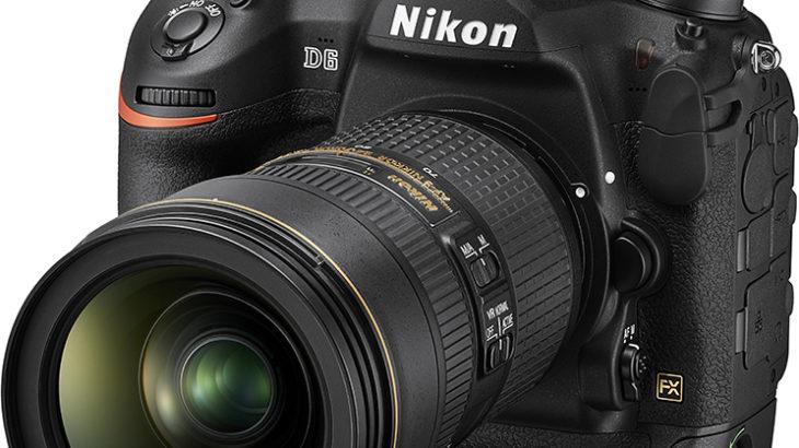 Nikon D6 発表 3月発売