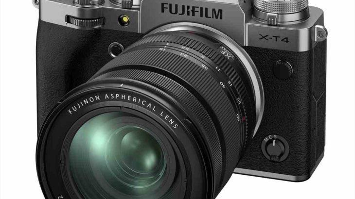 富士フイルム X-T4を正式発表