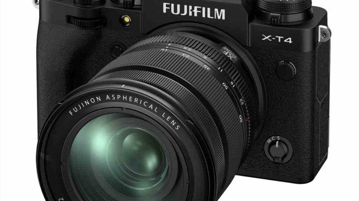 4月28日発売 FUJIFILM X-T4が欲しくなってしまう