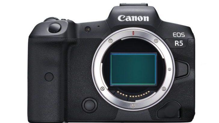 【噂】Canon EOS R5は今年後半発売?